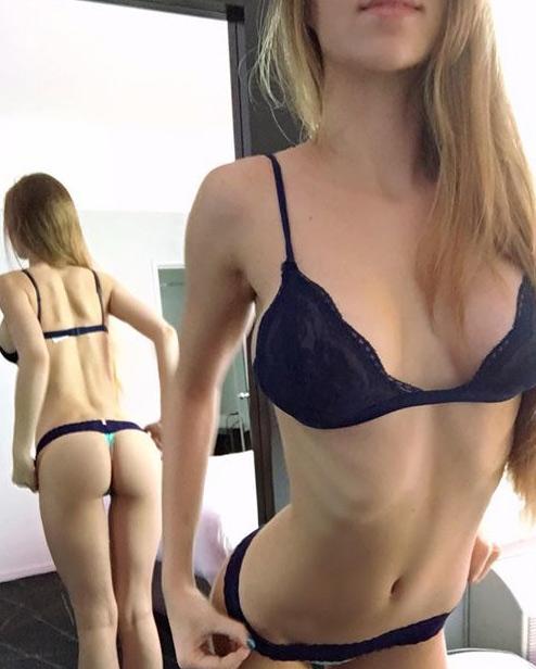 Découvrez cette blonde sexy qui cherche du cul