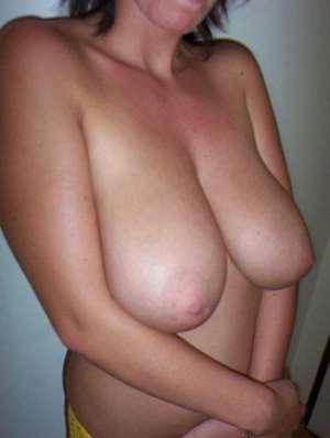 Snap de mes gros seins